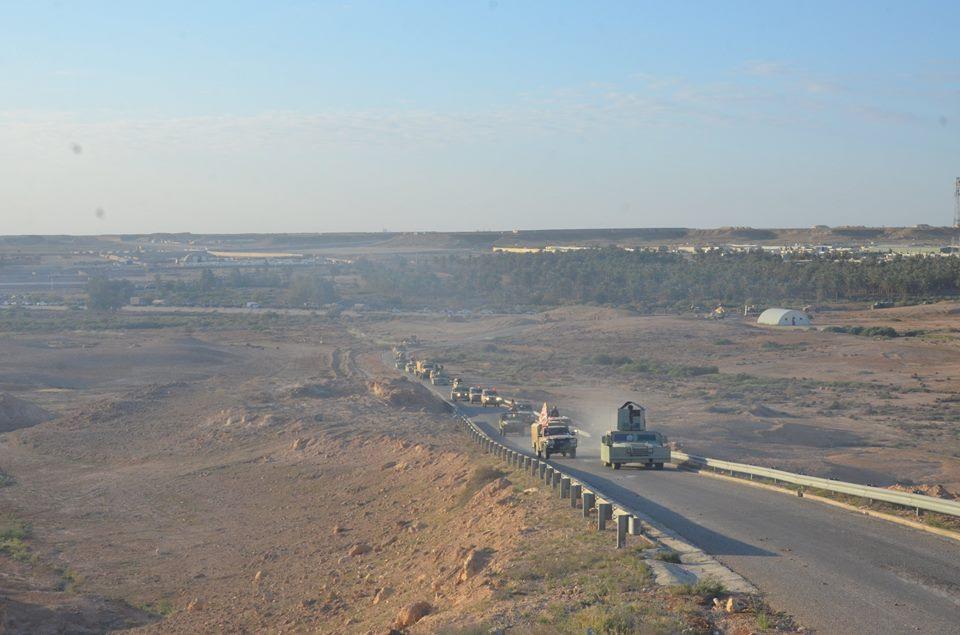 عمليات الجزيرة تعلن تحرير 8 كم بين حديثة وعنه