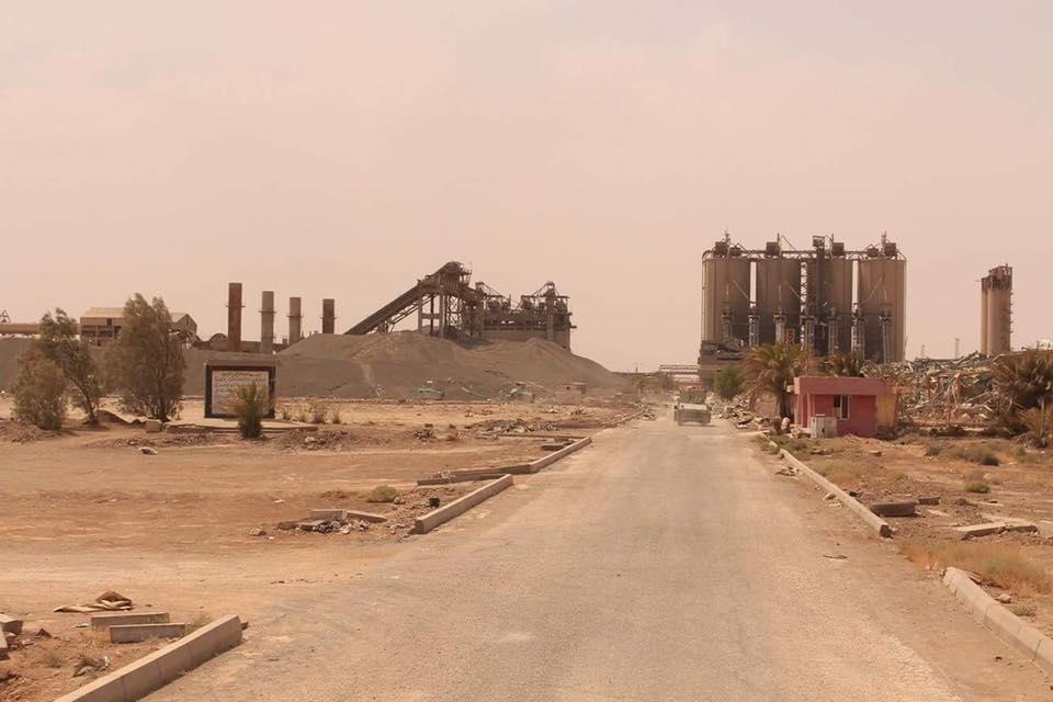 """الفرقة السابعة والعشائر تصدان هجوما لـ""""داعش"""" على ناحية كبيسة"""