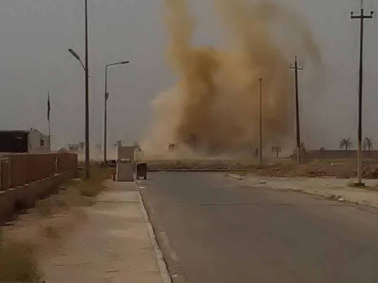 الدليمي: الانفجارات في الرمادي مسيطر عليها