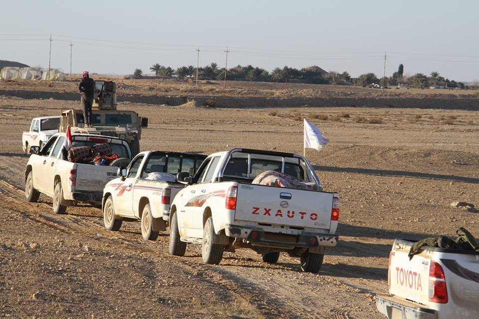 القوات الأمنية والعشائر تحرران منطقتي الزاوية والصكرة غربي الأنبار