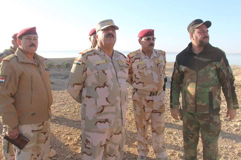 """عمليات الجزيرة تعلن قتل خمسة """"إرهابيين"""" وتدمير عجلة مفخخة بالأنبار"""