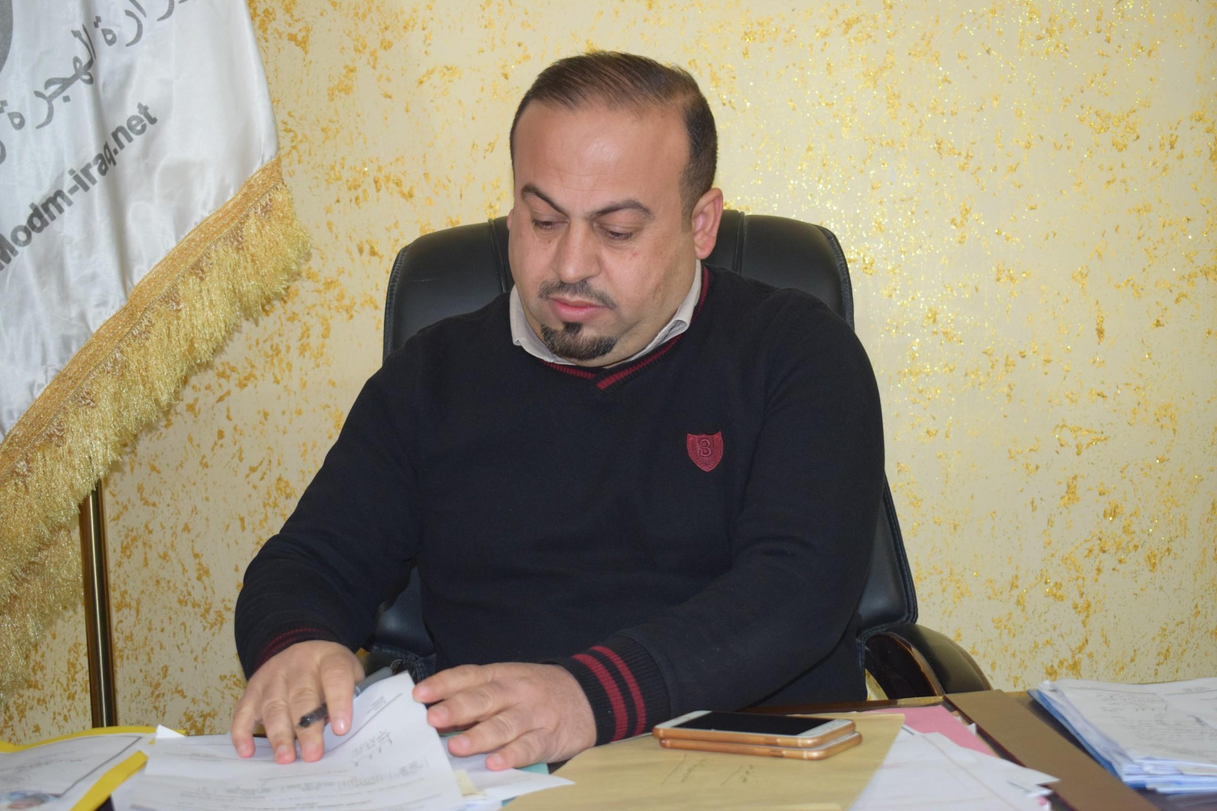 هجرة الأنبار تعلن وصول اسر نازحة من الموصل الى المحافظة