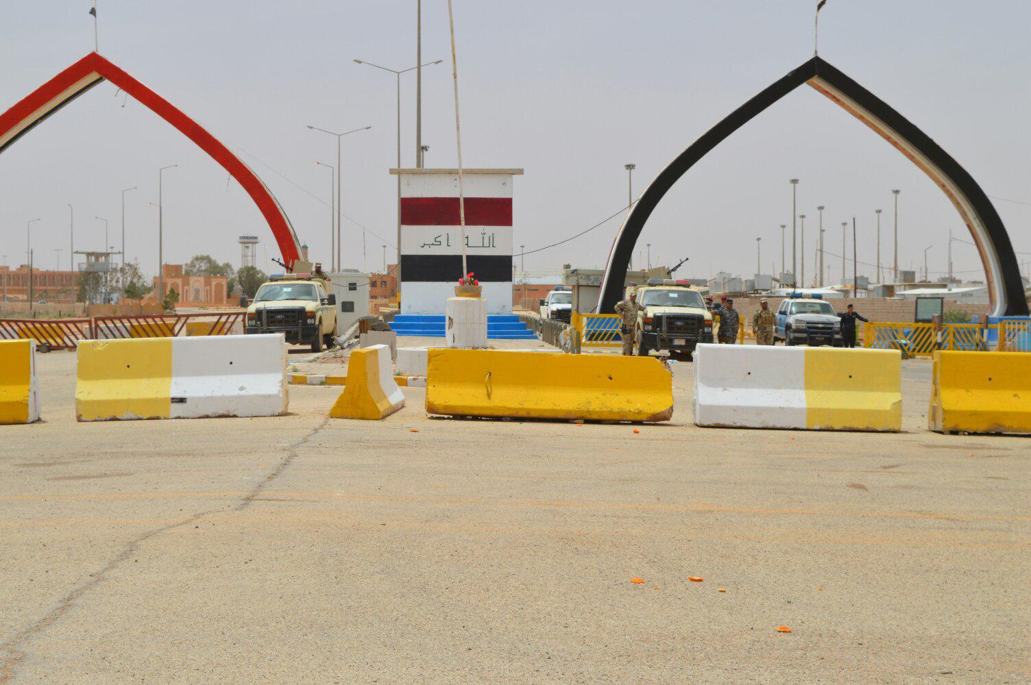 بالصور… قرب افتتاح منفذ طريبيل الحدودي مع الاردن