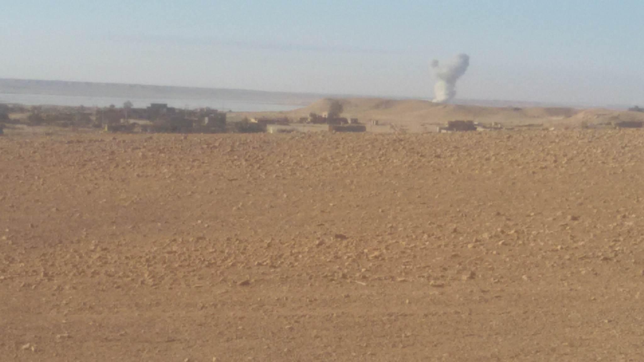 """اصابات بين المدنيين بقصف لداعش بـ""""صواريخ كاتيوشا"""" على حديثة"""