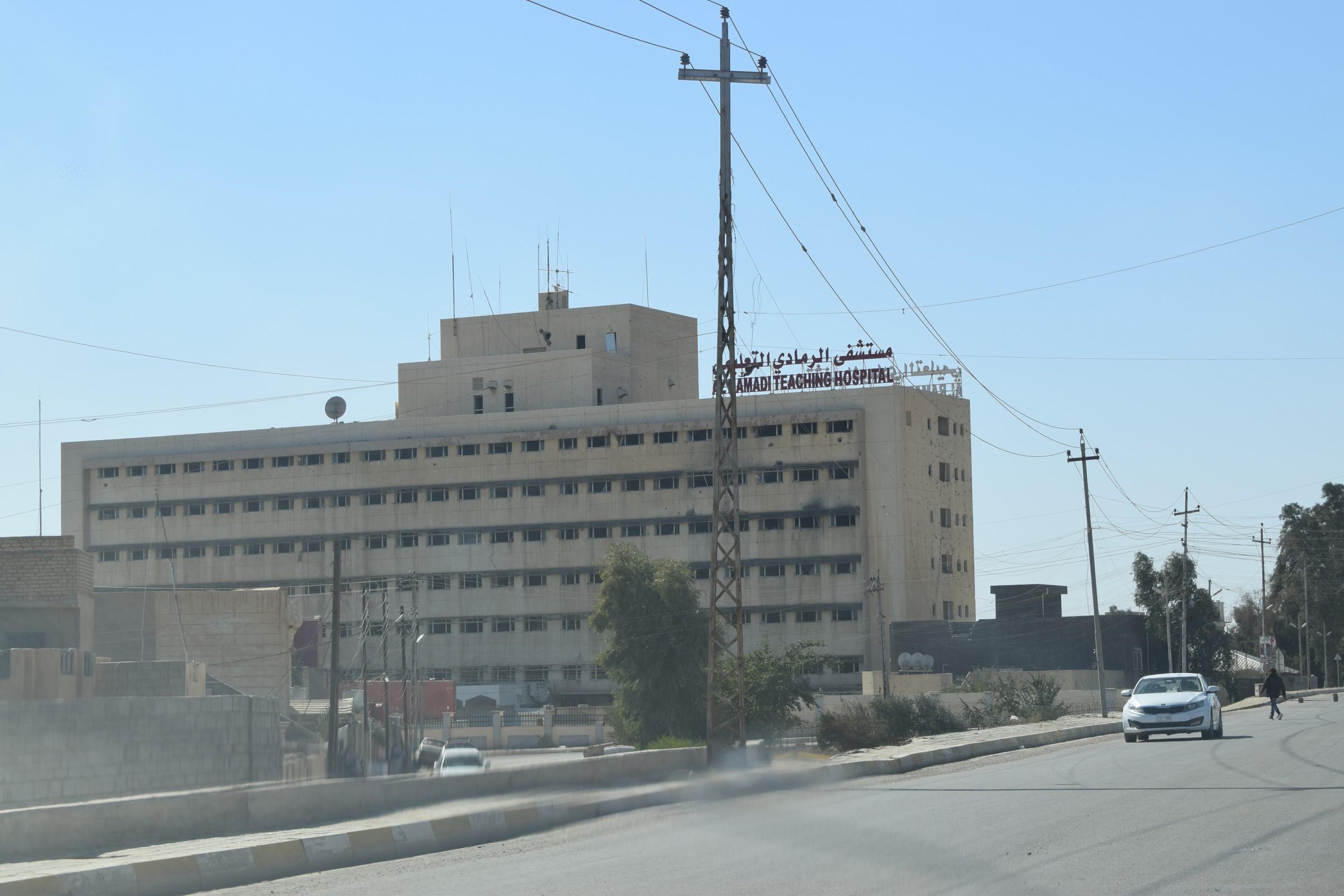 مسؤول محلي: مستشفى الرمادي بدون أموال منذ ستة أشهر