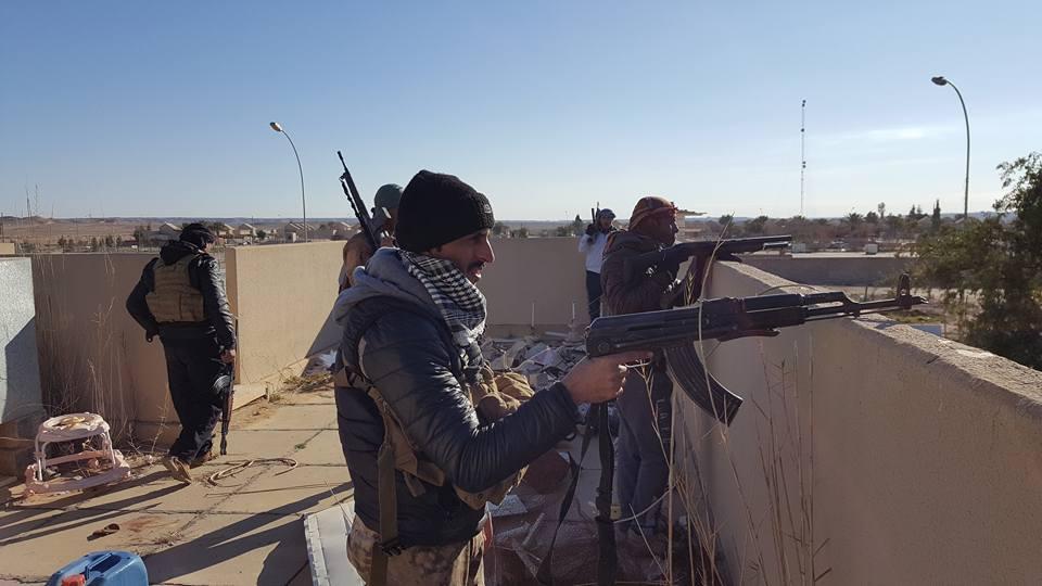 مسؤول محلي يطالب بإصدار أوامر إدارية لمقاتلي حشد ناحية البغدادي