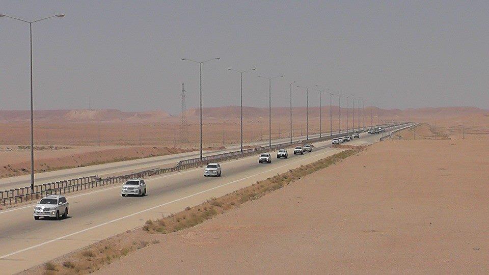 شركة امنية اميركية تتولى مهام حماية الطريق الدولي السريع بالأنبار