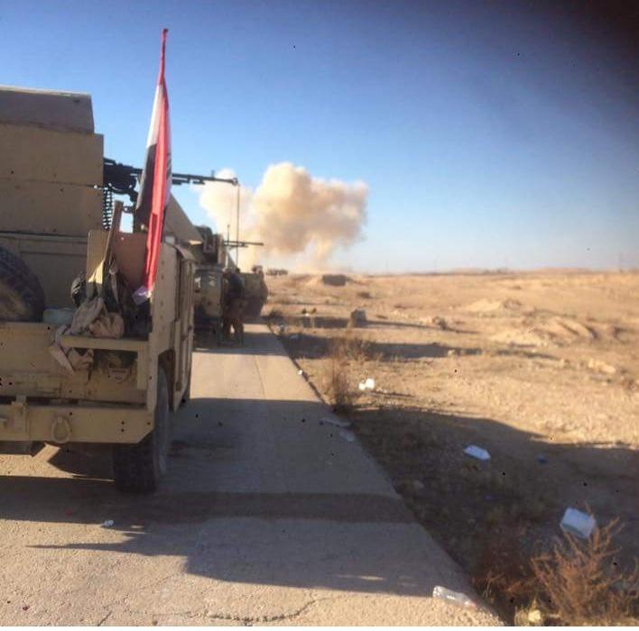 إصابة عدد من الجنود بتفجير غرب الرمادي