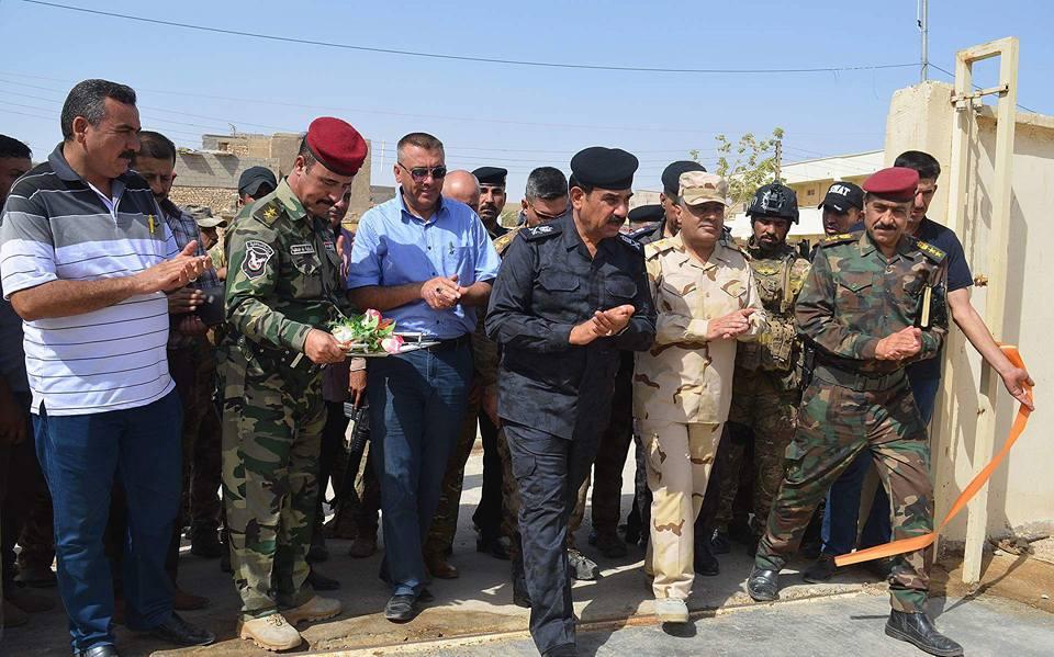 مجلس هيت يطالب قائد شرطة الانبار بإعادة تفعيل مديرية شرطة القضاء