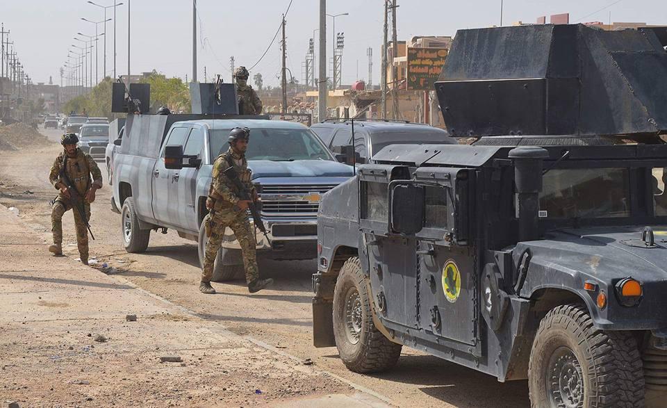 """استهداف منازل عوائل """"داعش"""" بقنابل صوتية في هيت"""
