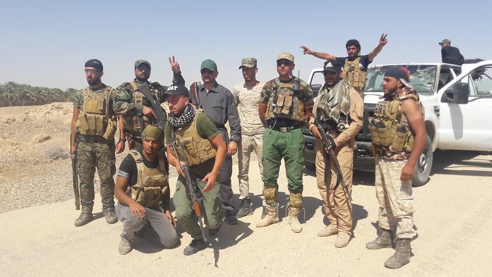 عملية واسعة لمقاتلي العشائر بدعم من التحالف بالرطبة