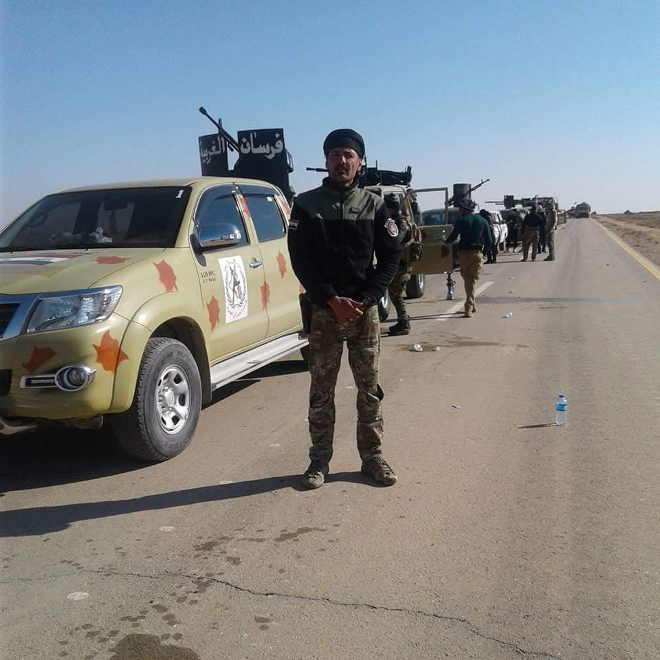 """الحشد العشائري يقتل اثنين من """"داعش"""" ويأسر اثنين آخرين غرب الرطبة"""