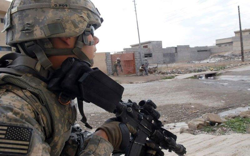 """قوة امريكية تقوم بعملية عسكرية ضد """"داعش"""" غربي الأنبار"""