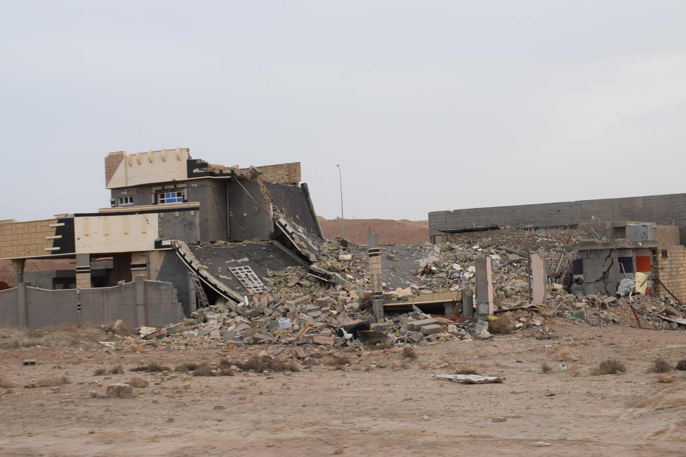 أهالي النعيمية: مخلفات داعش قتلت واصابة 18 شخصا