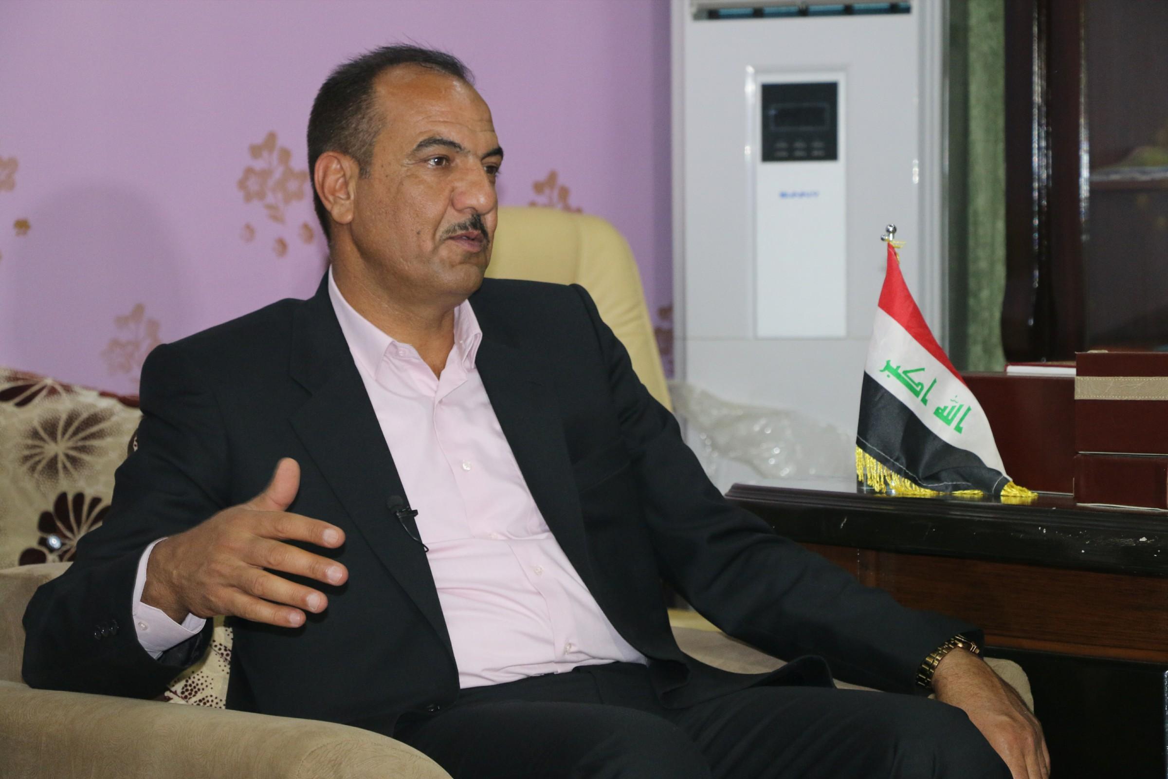 عضو بمجلس الأنبار: تحسن الوضع الاقتصادي بالمحافظة مرهون بالوضع الأمني والسياسي