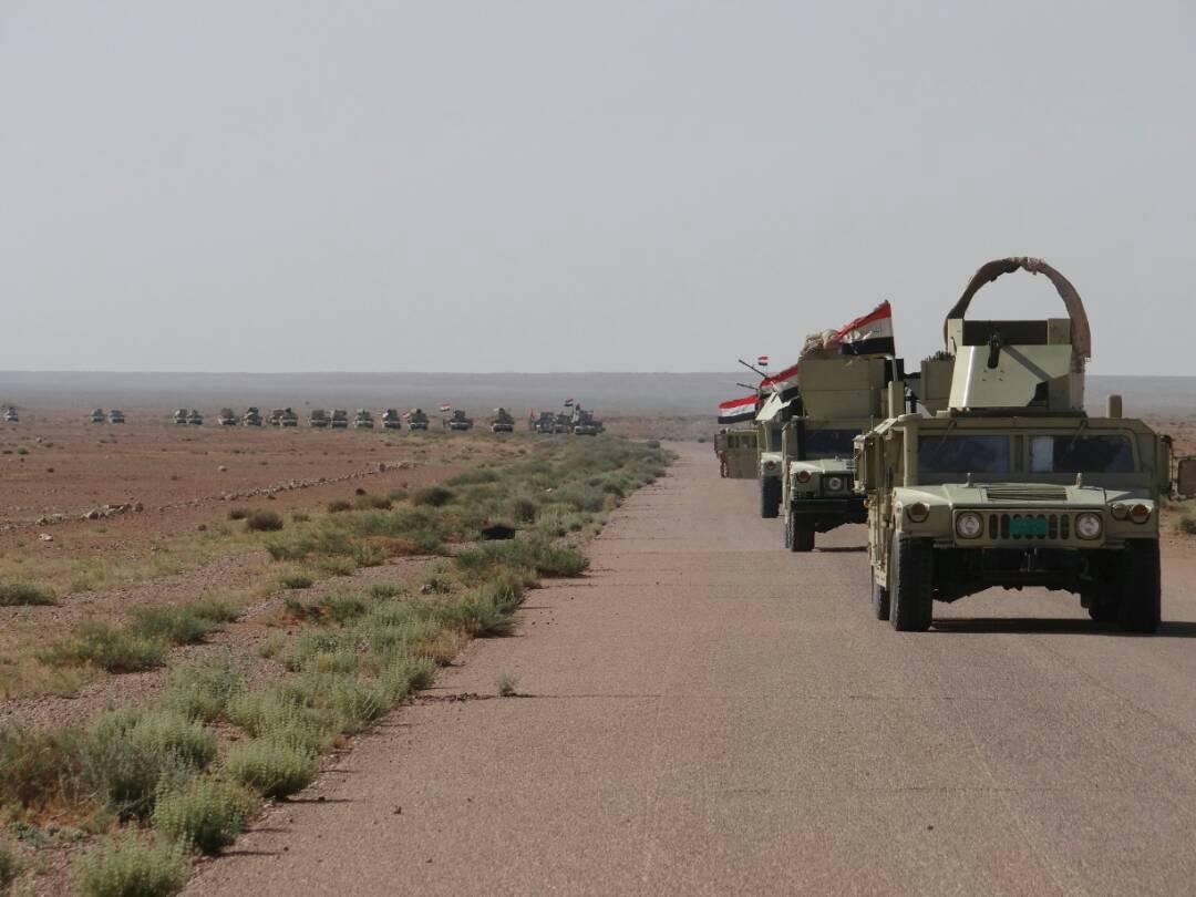 """قوة امنية تصد هجوما لـ""""داعش"""" على مقر لحرس الحدود غربي الأنبار"""