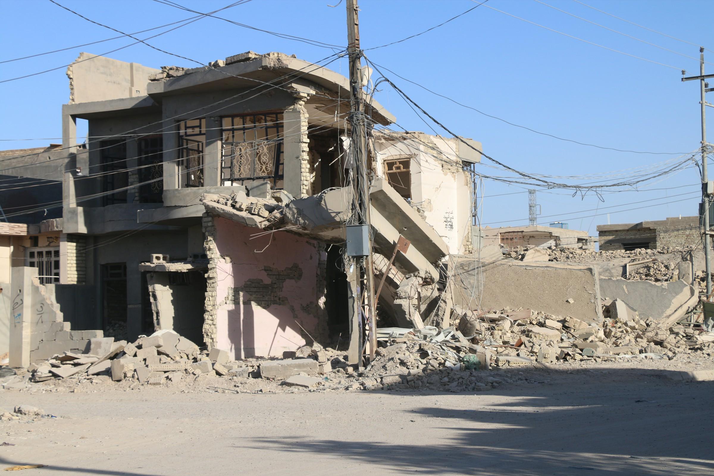 مجلس الانبار: 90 الف وحدة سكنية بالمحافظة دُمرت نتيجة الأعمال الارهابية والعسكرية