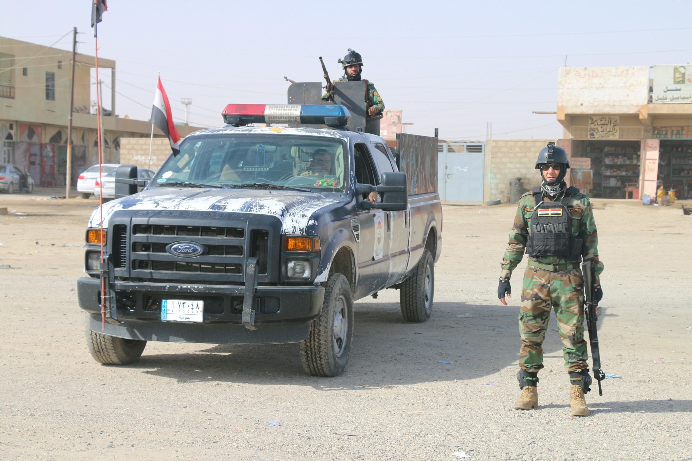 امنية الأنبار تطالب رزيج بإعادة فتح مركز شرطة في ناحية الفرات