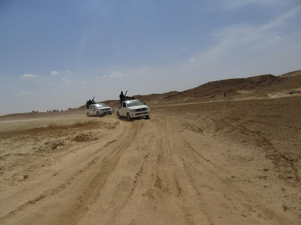 نجاة آمر لواء بالجيش من تفجير عبوة ناسفة غربي الأنبار