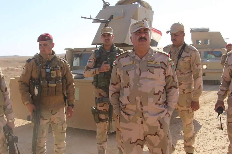 اللواء الركن قاسم المحمدي يعلن القبض على مخطط تفجير هيت الاخير