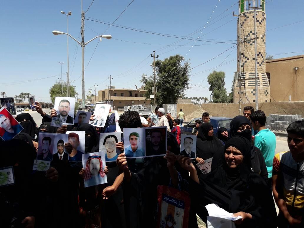 """العشرات من عوائل الصقلاوية يناشدون المرجعية بالتدخل ومعرفة مصير أبنائهم """"المفقودين"""""""