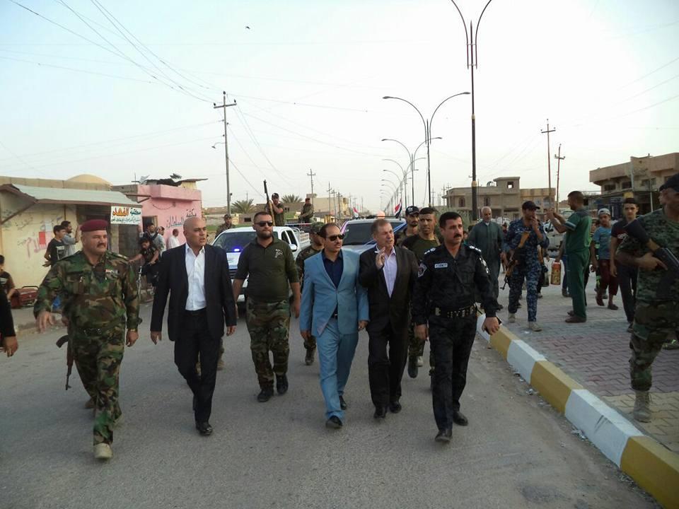 الرطبة وأهلها يحتفلون بتحرير الموصل