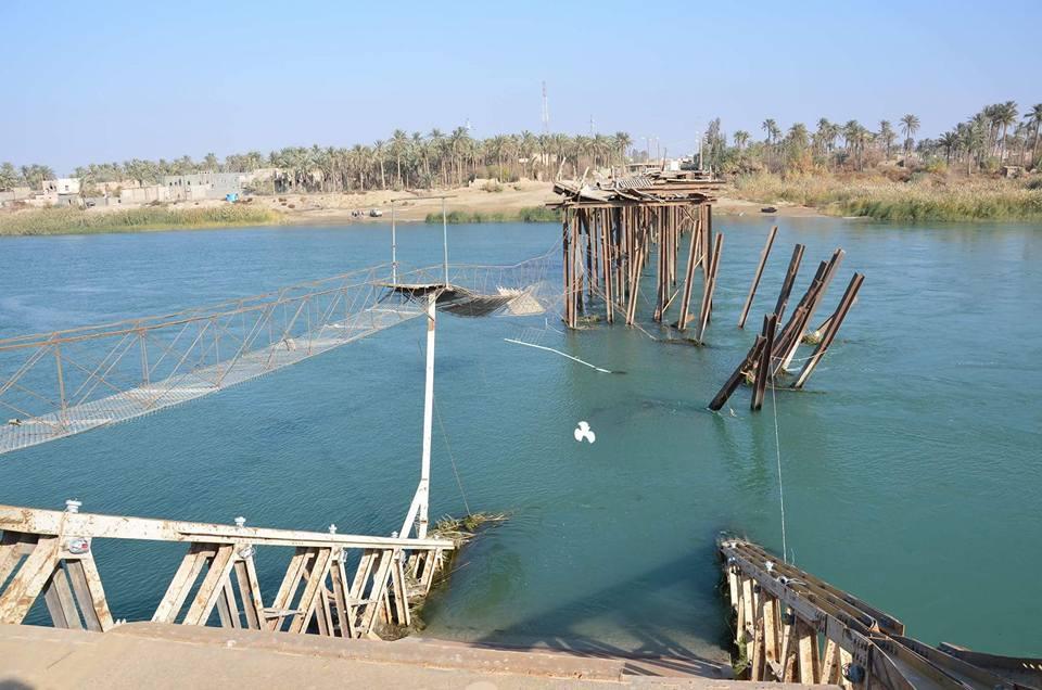 الموافقة على اعمار جسر هيت على نفقة صندوق الاعمار