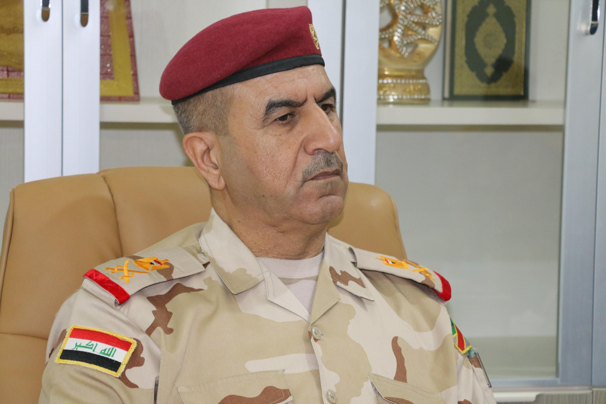 """قائد عمليات الأنبار يعلن الاستيلاء على عجلتين لـ""""داعش"""" شرق الرطبة"""