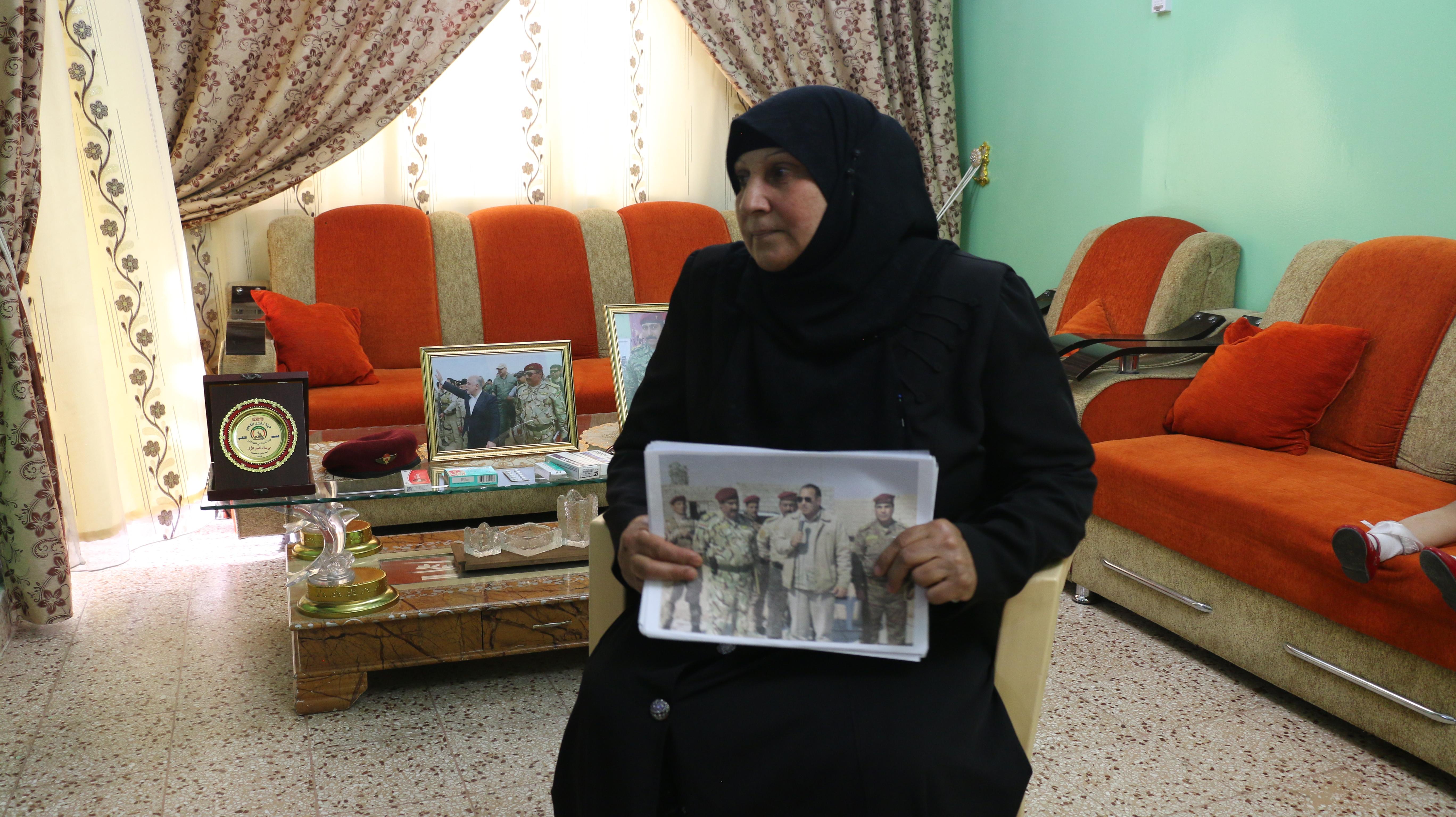 اختفاء العيساوي.. عائلته تناشد العبادي وقيادات الحشد بمعرفة مصيره