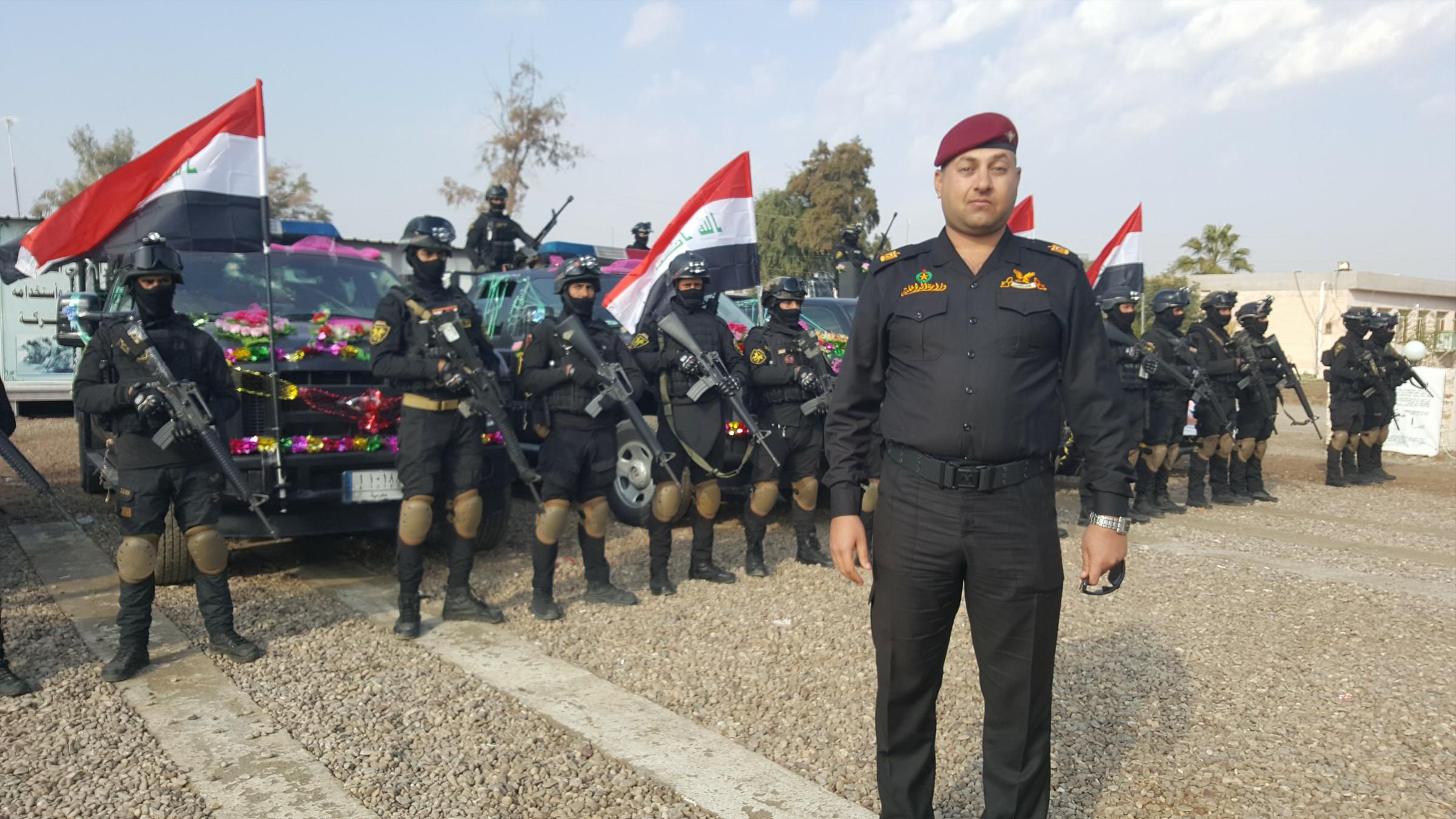 """سوات الانبار تقتل الريشاوي احد قياديي """"داعش"""" قرب الرمادي"""