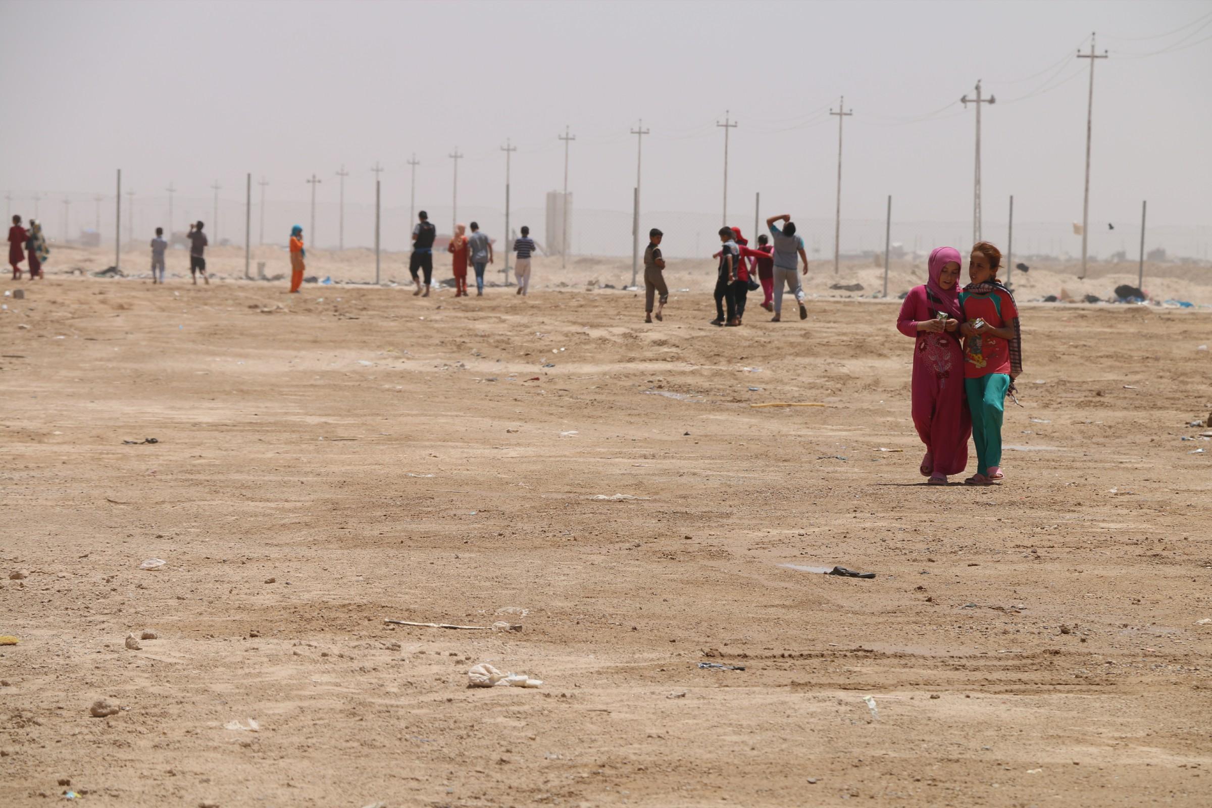 """مسؤول محلي يناشد الجيش بفك """"الحصار"""" عن 40 اسرة غرب الرمادي"""