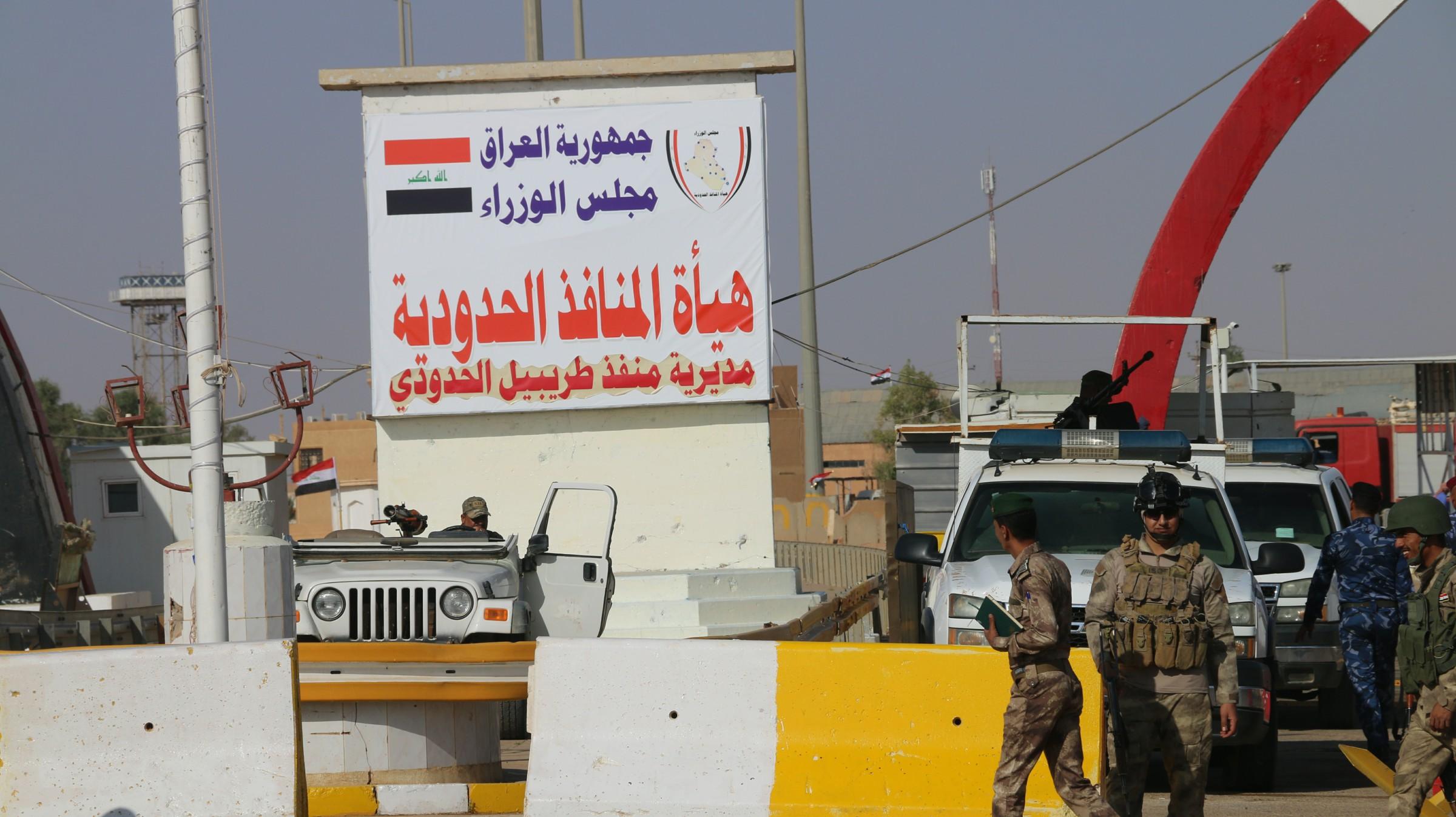 مدير جمرك طريبيل يعلن ازدياد معدل السفر براً بين العراق والأردن