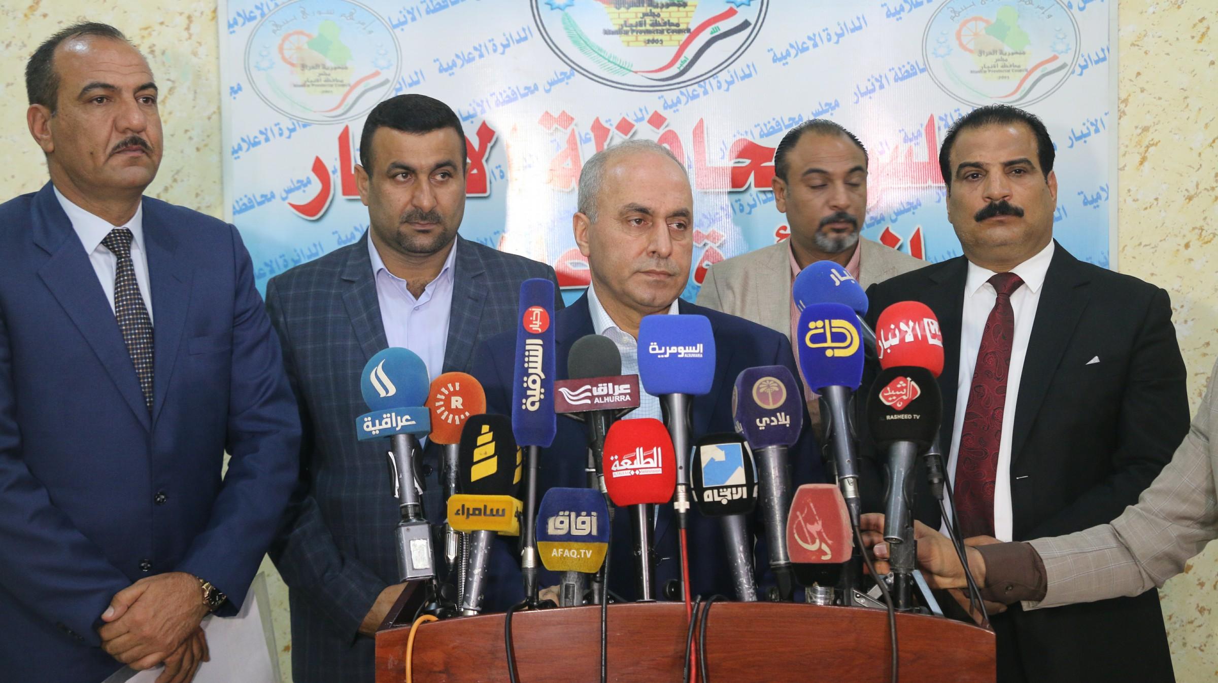 """وزير التخطيط يؤكد ان الأنبار تحتاج الى مشاريع """"مضاعفة"""" بسبب الدمار"""