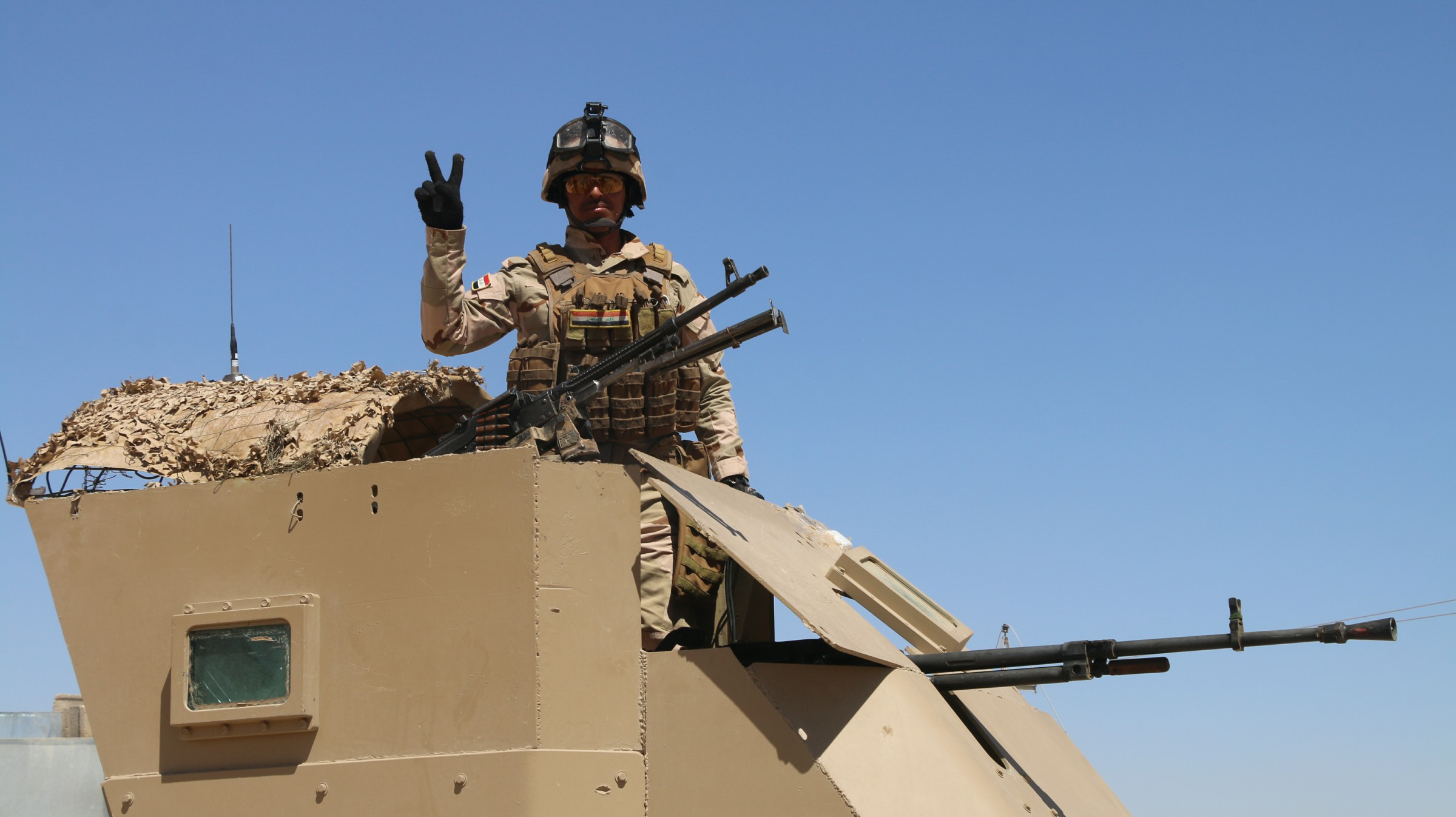 """احباط تعرض لـ""""داعش"""" على مقر للجيش جنوب شرق الرطبة"""