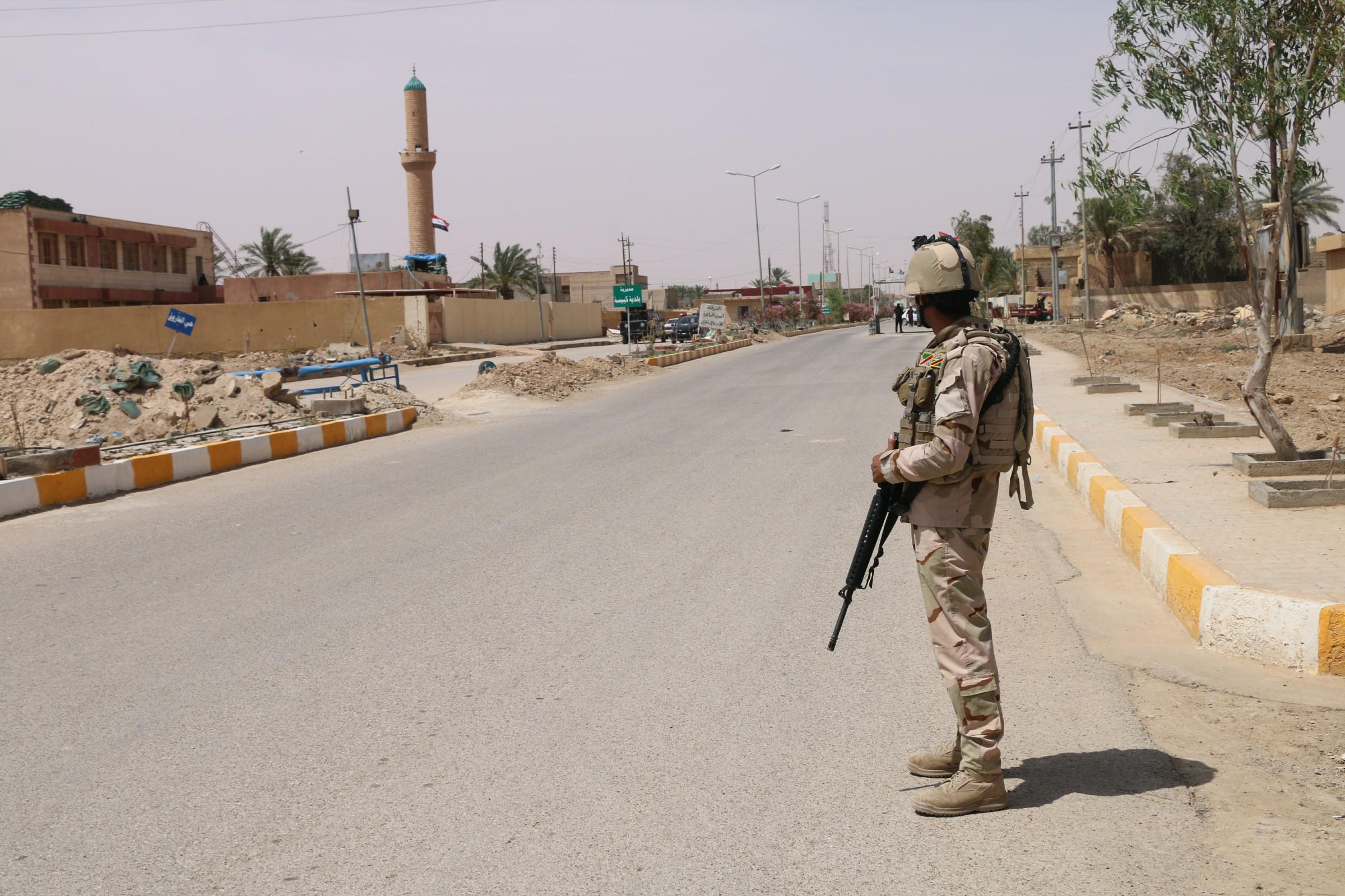 الانبار: داعش يقصف ناحية الوفاء بقذائف هاون