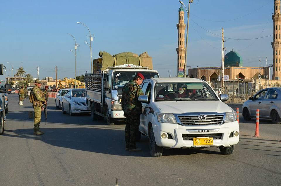 شرطة الأنبار تعلن اعتقال خمسة من المشتبه بهم وسط الرمادي