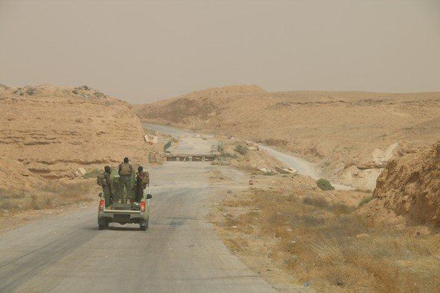 قائد عمليات الأنبار يعلن انطلاق عملية لتطهير صحراء المحافظة