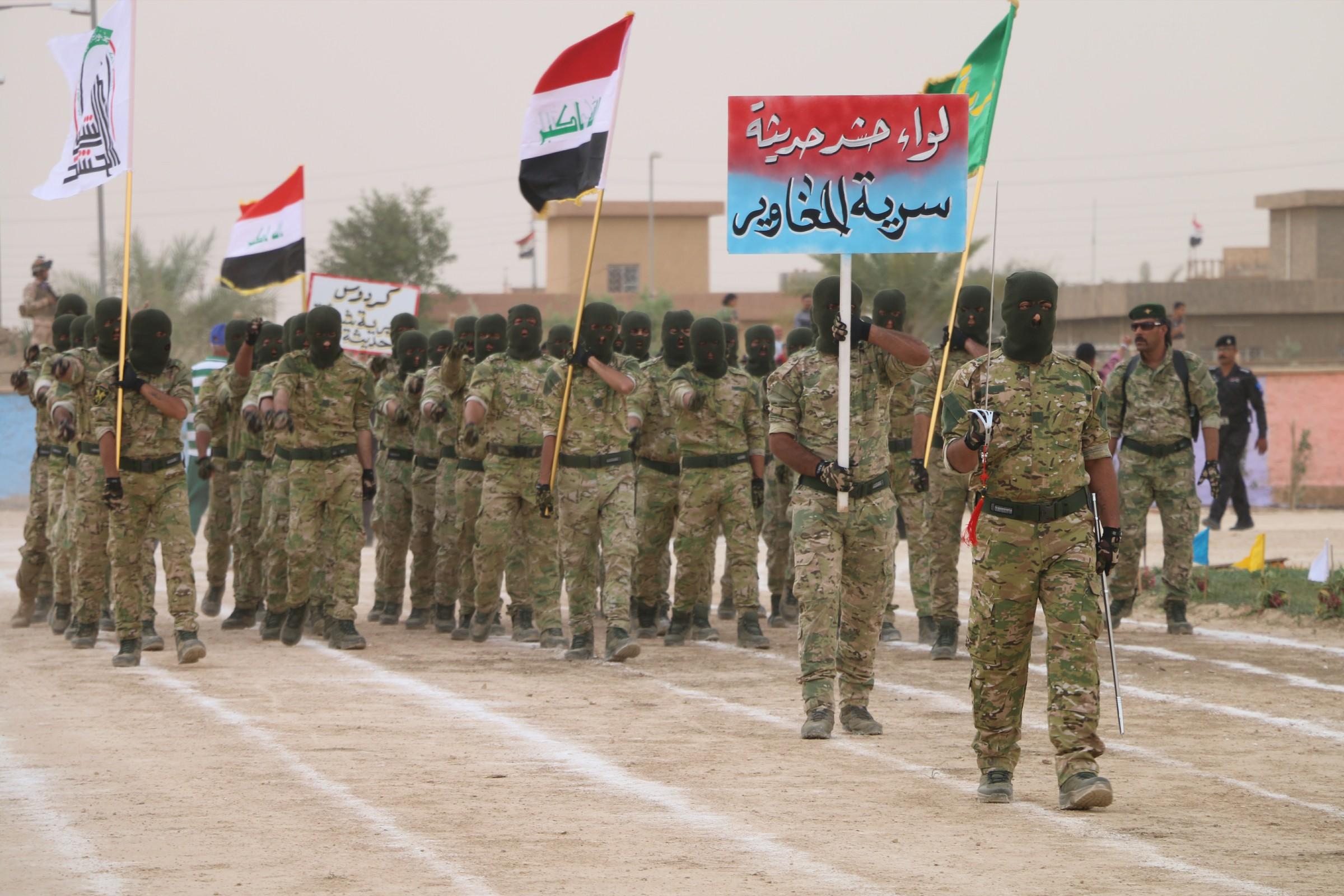 حشد حديثة: سنشارك بتحرير المناطق الغربية رغم امكانياتنا الضعيفة