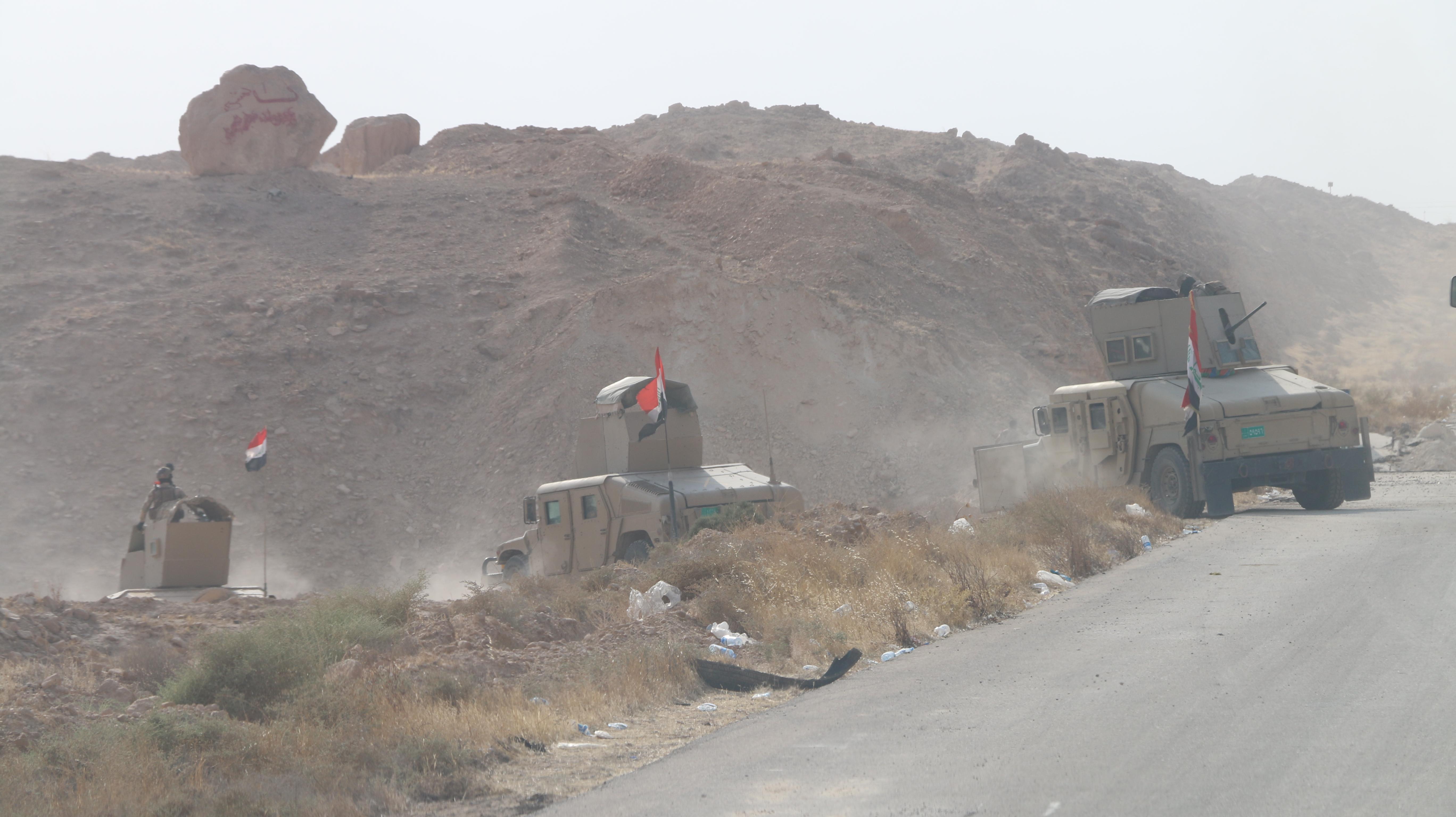 مصدر: عمليات تحرير راوه والقائم انطلقت من أربعة محاور احدها من نينوى