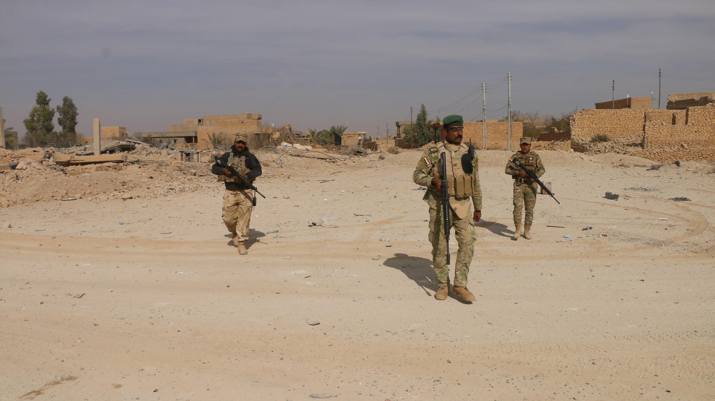 """القوات الأمنية تعتقل 15 عنصرا من """"داعش"""" في راوة"""