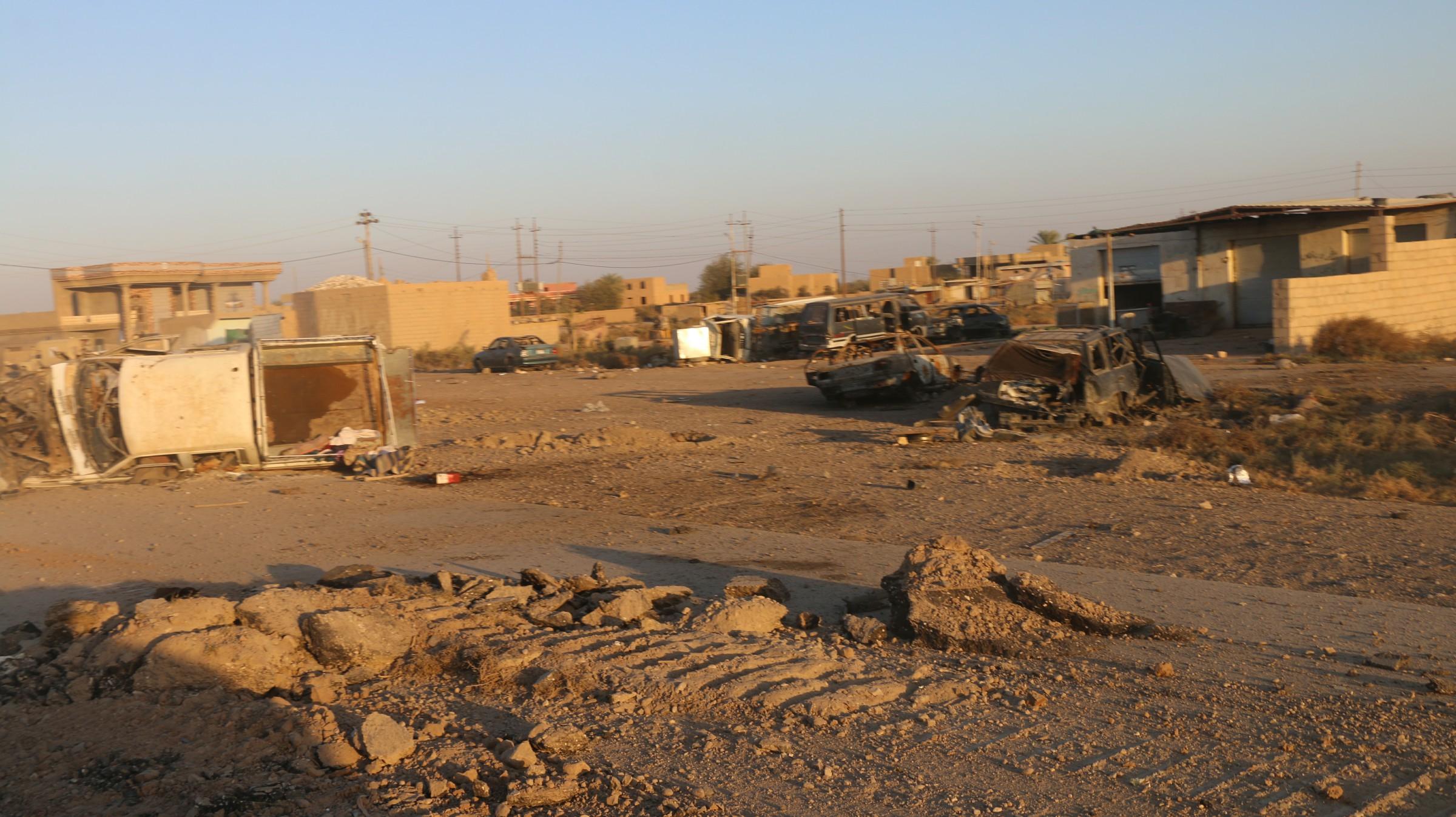 """مجلس القائم يعلن نسبة الدمار الذي لحق بالقضاء نتيجة العمليات """"الإرهابية"""" والعسكرية"""