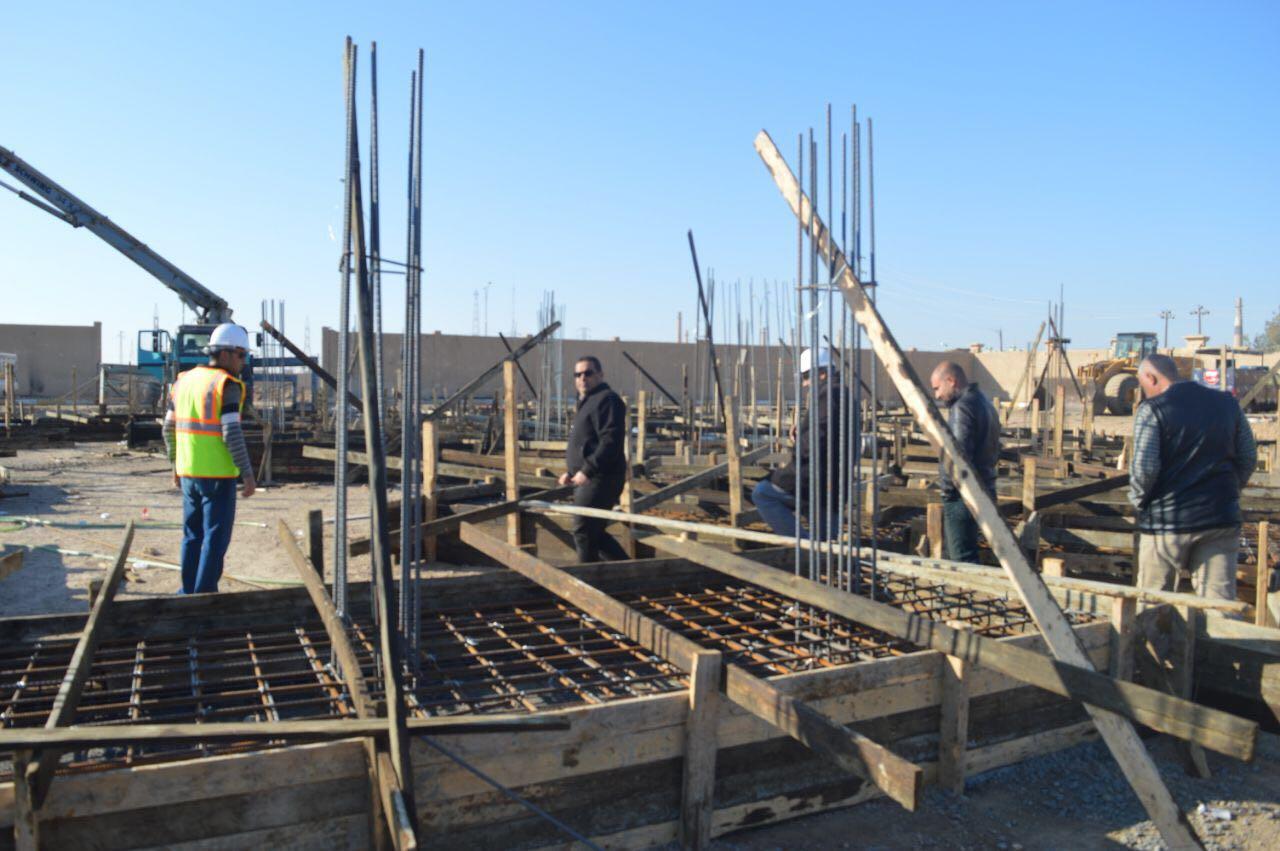 المباشرة بإعادة اعمار بناية قائممقامية الرمادي على نفقة الأمم المتحدة