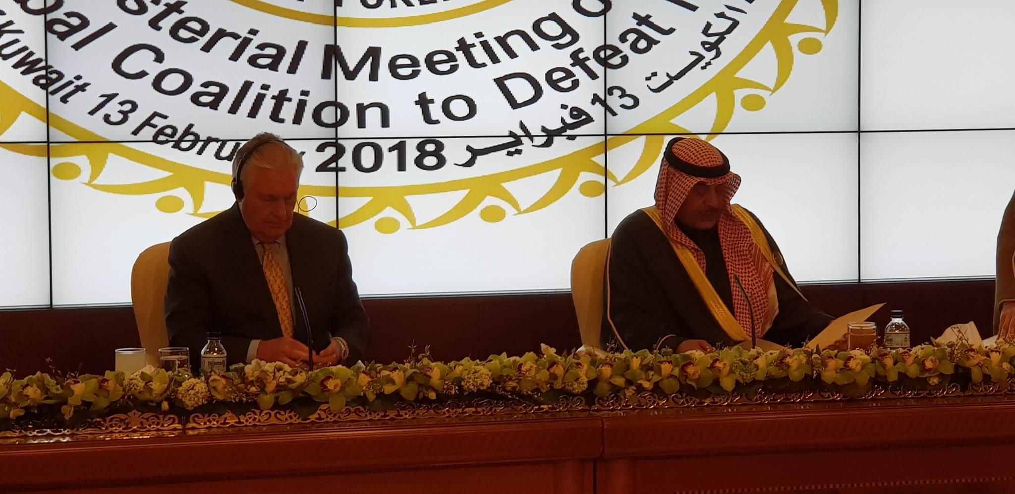 """وزير الخارجية الكويتي يكشف لـ """"ألزوراء"""" عن وجود """"مجموعة خاصة"""" لمتابعة ملف تدفق الإرهابيين الأجانب للعراق"""