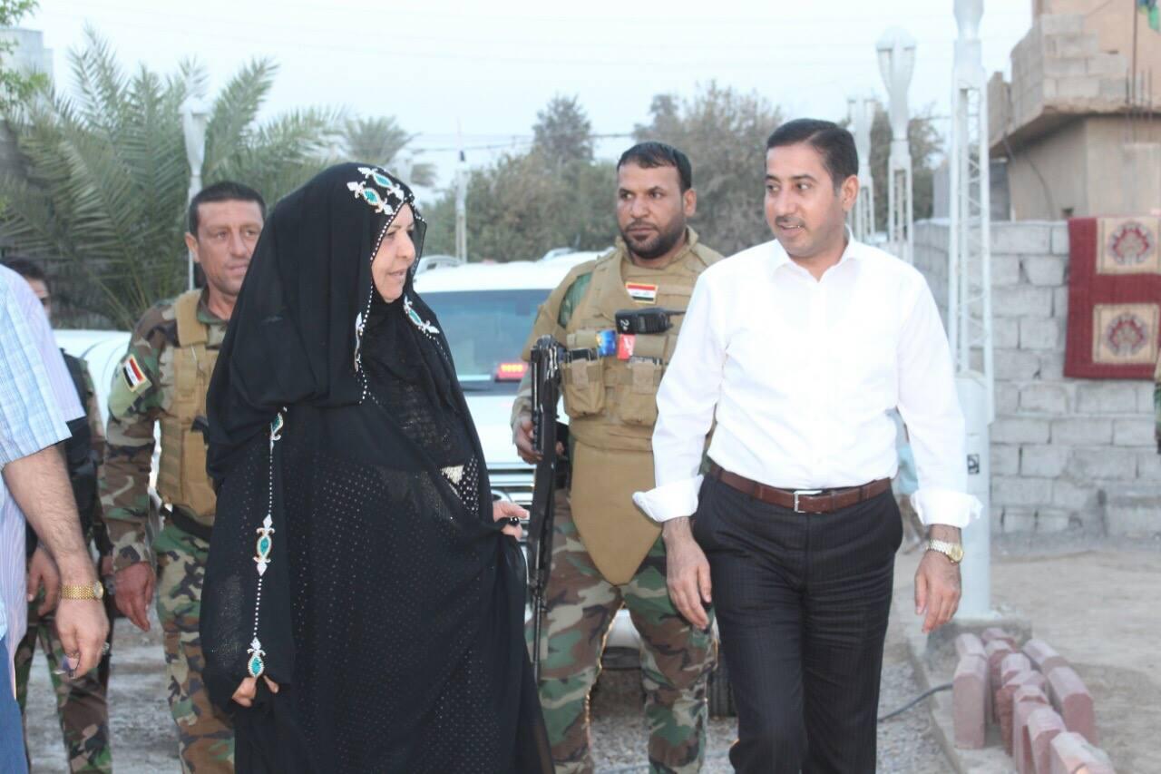 النائب المحلاوي: تكريم ام قصي من الخارجية الامريكية يعتبر تكريما لجميع العراقيات