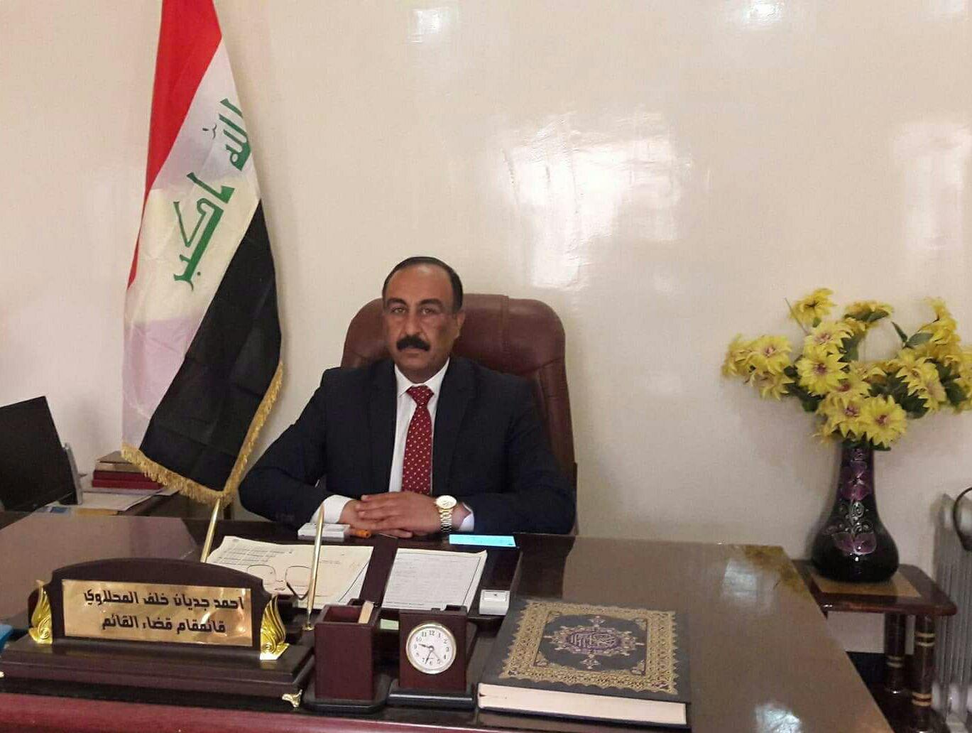 قائممقام القائم يطالب بطرد عوائل داعش من القضاء
