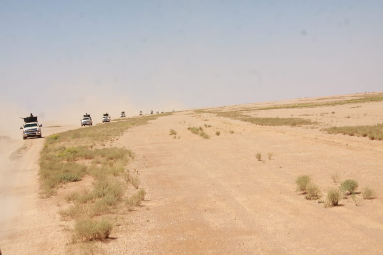 بالصور.. انطلاق عمليتي تفتيش واسعتين لملاحقة عناصر داعش غربي الأنبار