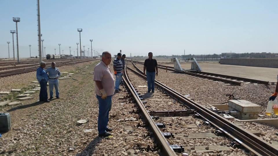 بالصور.. لهذا السبب تأخر وصول قطار المسافرين من الفلوجة لبغداد