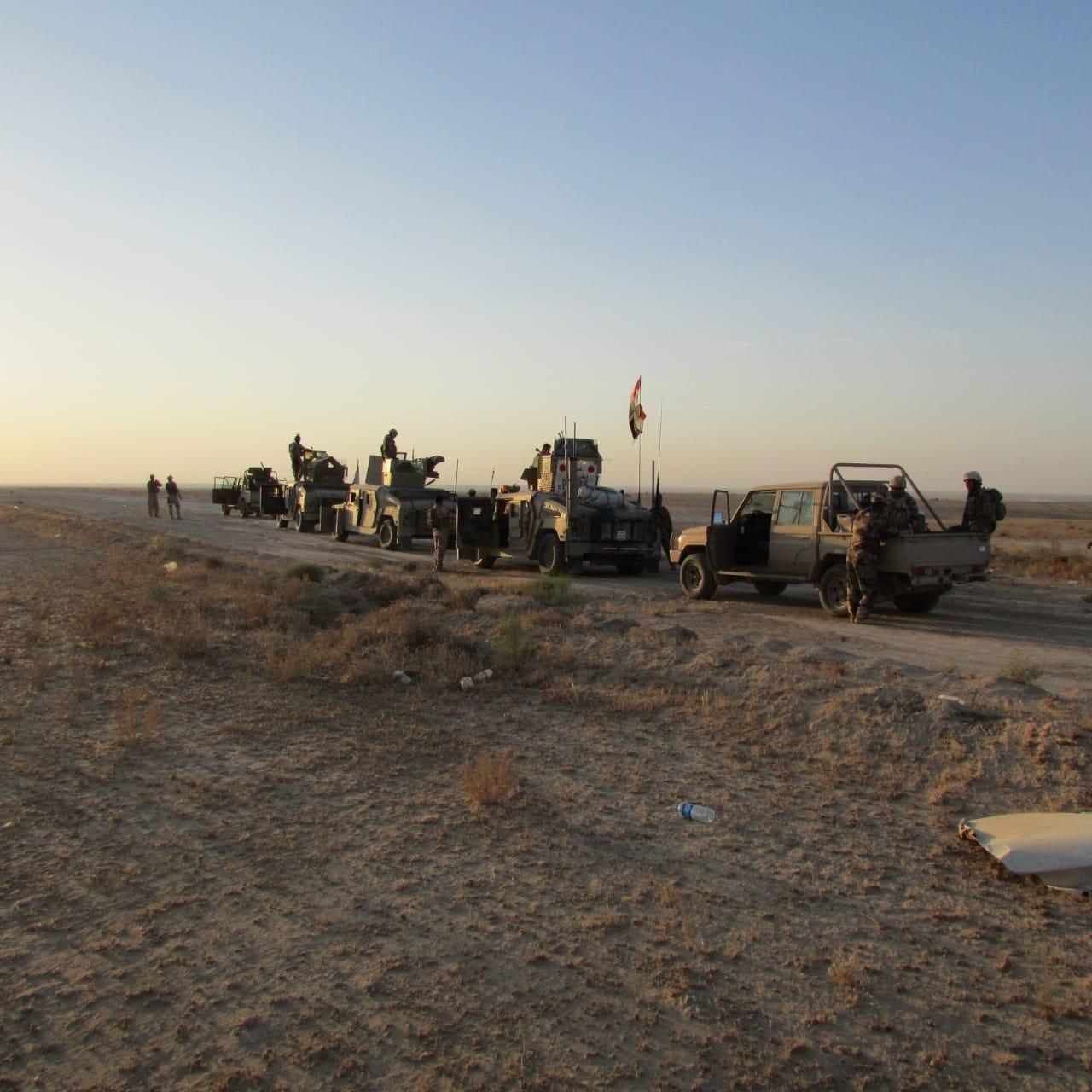بالصور.. نتائج اليوم الاول من عمليات مطاردة داعش في صحراء الأنبار