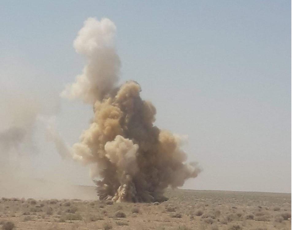 الجيش يفجر عددا من العبوات الناسفة في عامرية الصمود