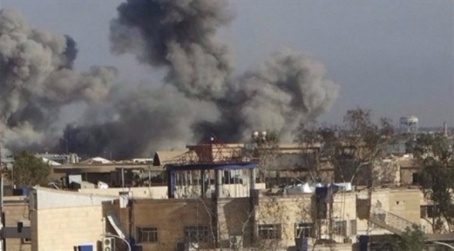 انفجار عجلة مفخخة قرب احدى المطاعم في ايمن الموصل